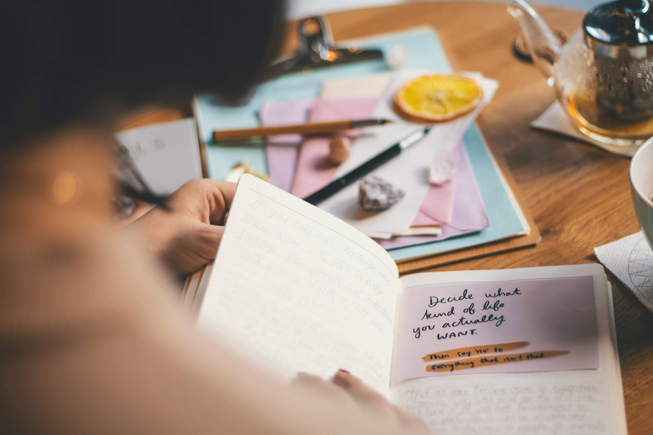 How to get started with your self-reflection journaling