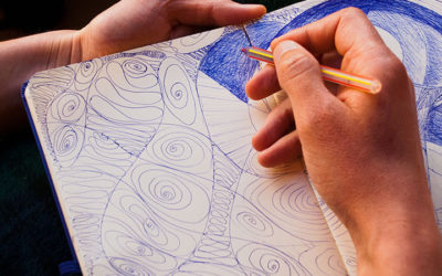 step guide to make a Zentangle