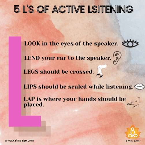 5 L's of Active Listening