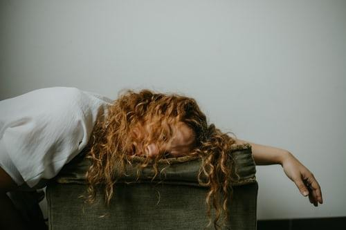 Drastic change in sleeping pattern