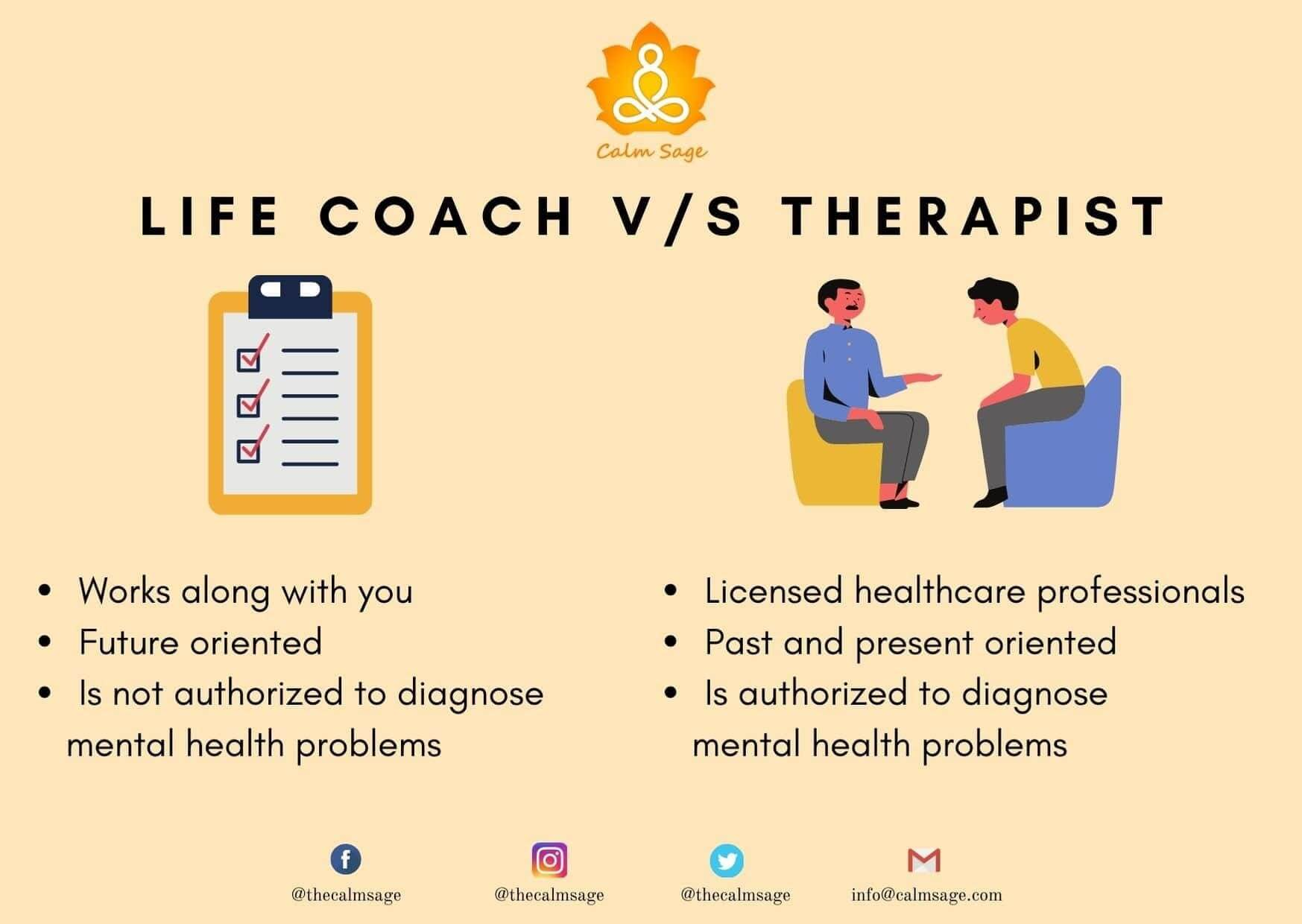 Life Coach and Therapist