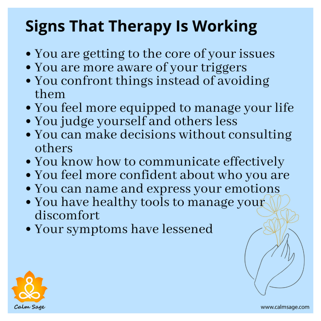 Signs That Therapy Is Working