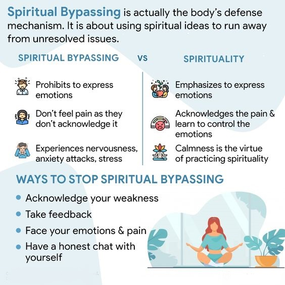 Spiritual Bypassing and ways to stop