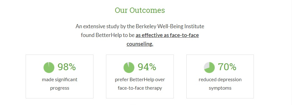 berkely found betterhelp best as face to face counselling