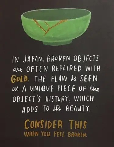 consider this when you are broken