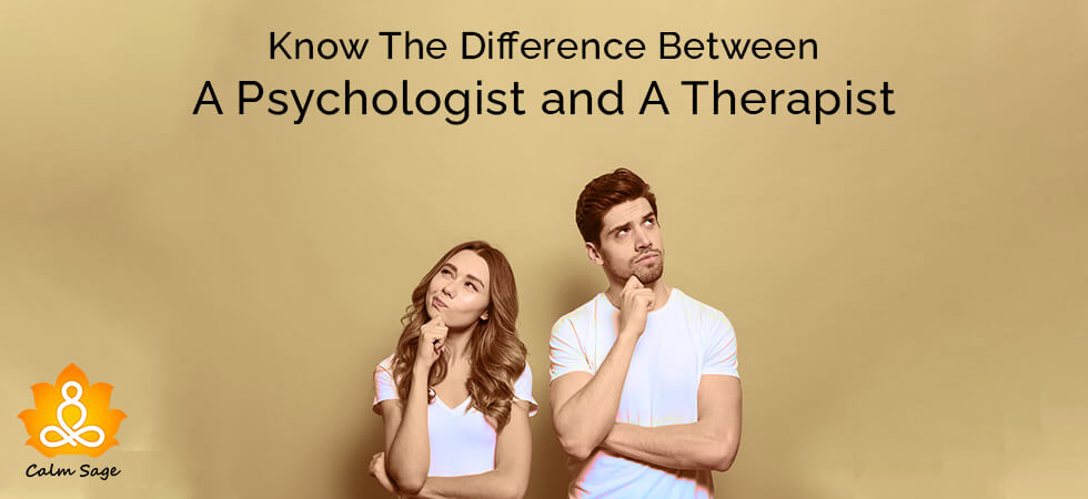 Difference Between A Therapist And A Psychologist Offering Therapy