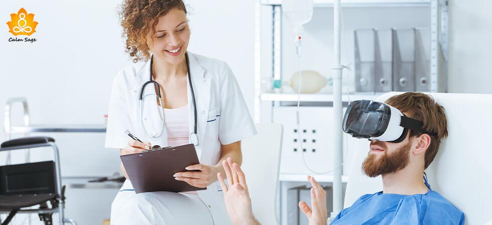 Virtual reality therapy