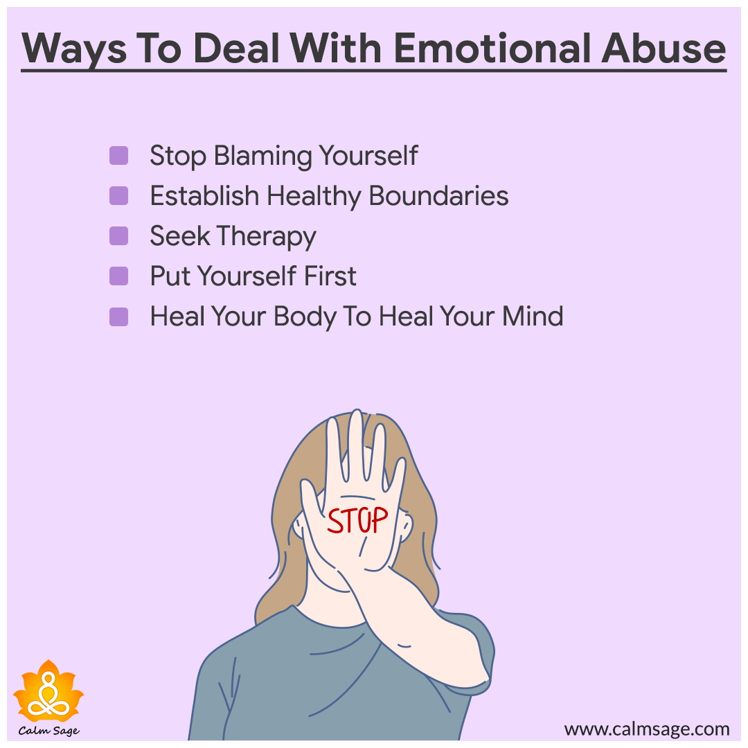 ways to deal with emotional abuse
