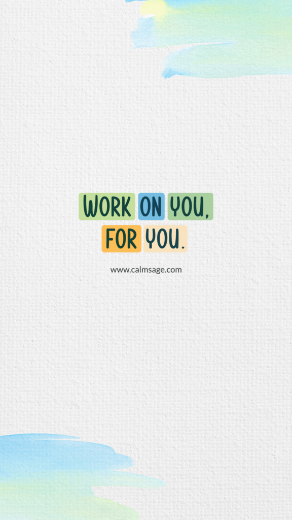 work on you for you mob wallpaper
