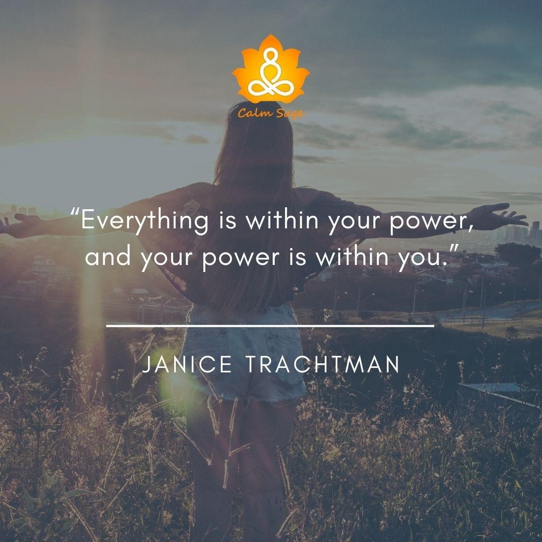 Everything is within your powe