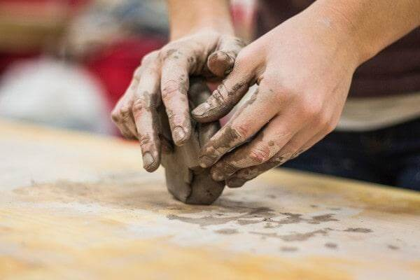 Get Messy With Clay