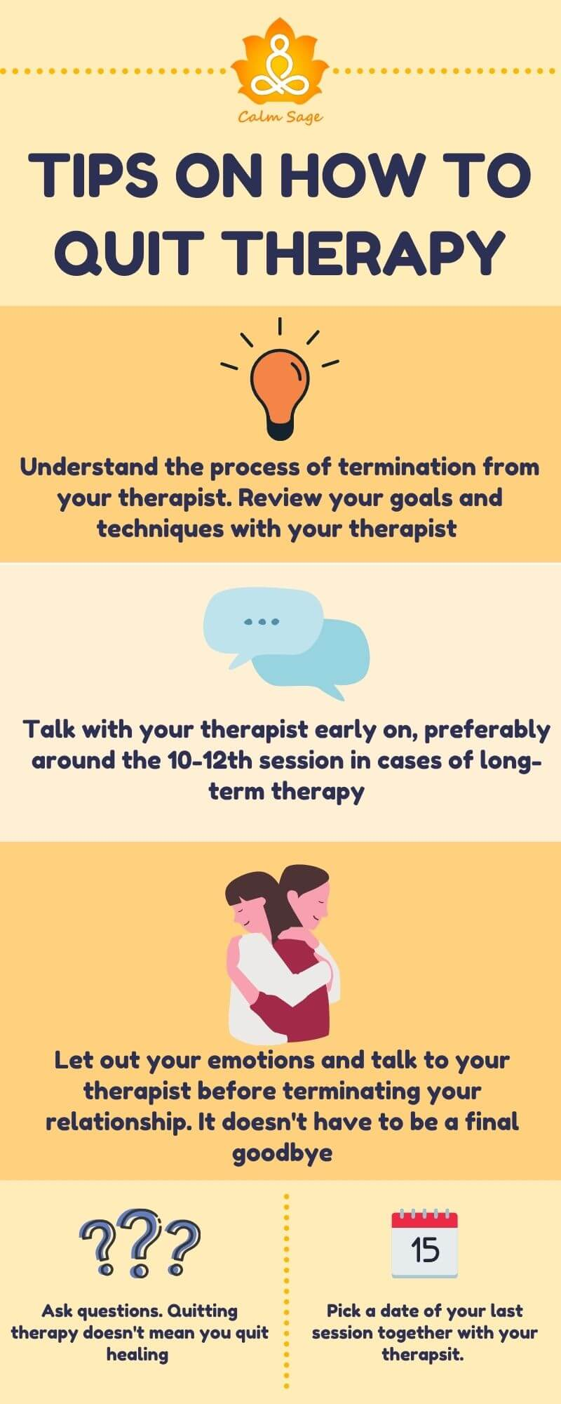 how to say goodbye to therapy in healthy way