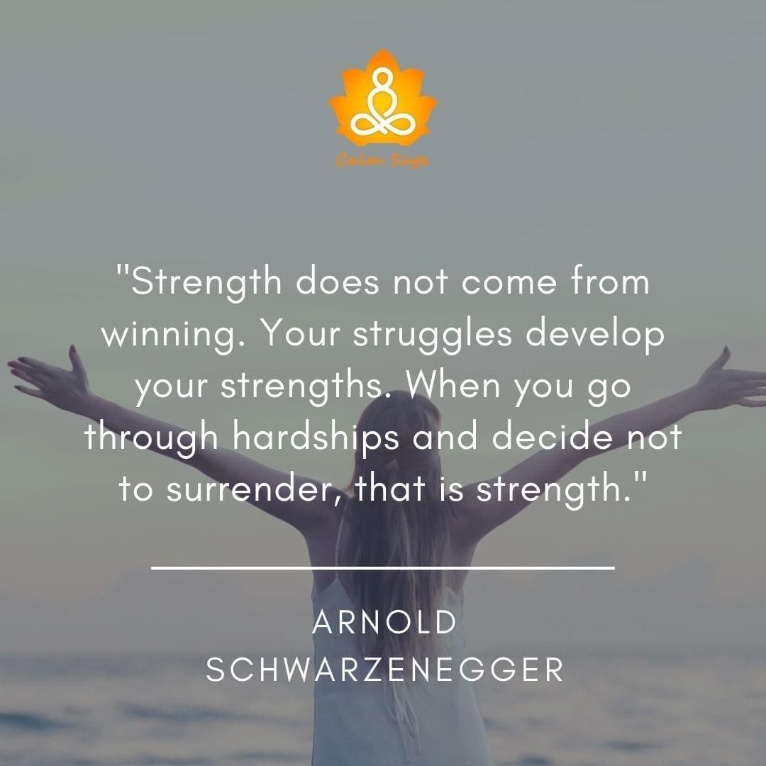 struggles develop your strengths