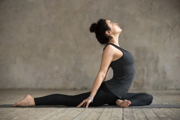 You need to be flexible for practicing yoga
