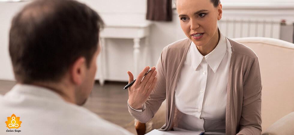 sensitive therapist