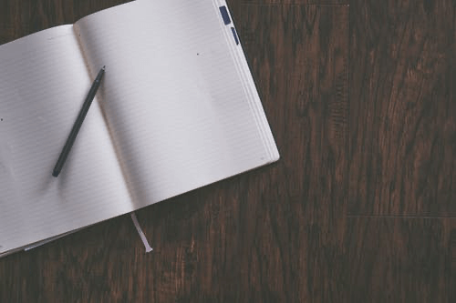 Plan the conversation by writing it down