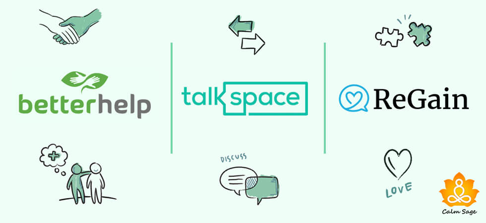 Talkspace vs BetterHelp vs Regain