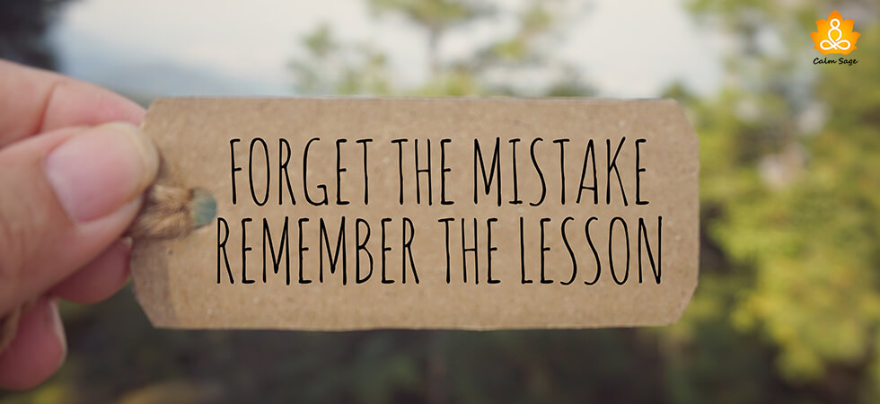 lessons you can learn from your mistakes