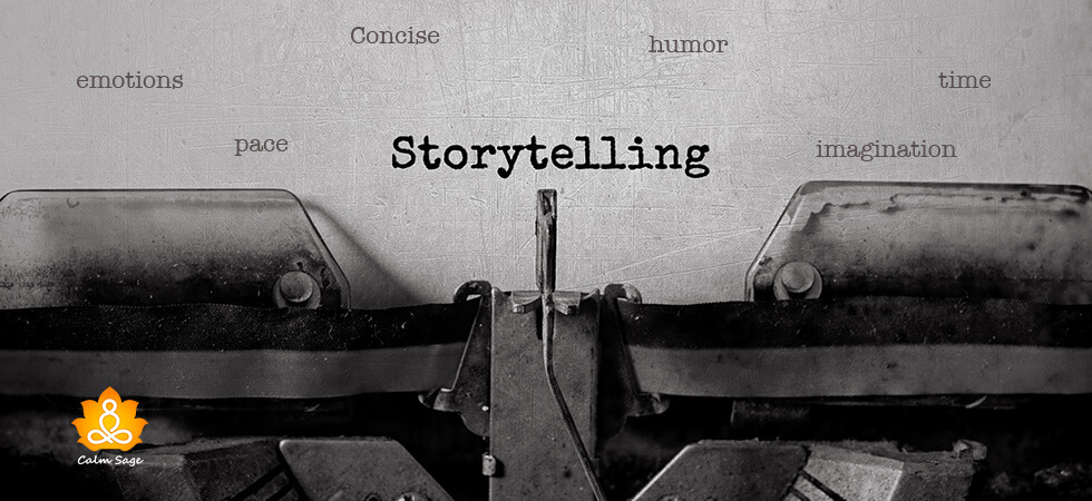Become a better storyteller in anxiety