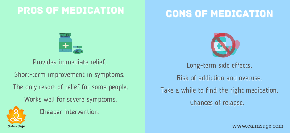 Pros and Cons of Medication