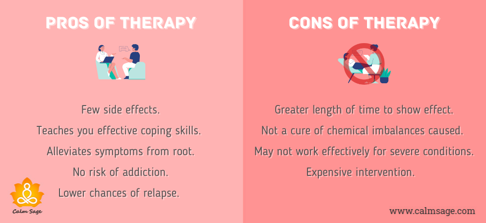 Pros and Cons of Therapy