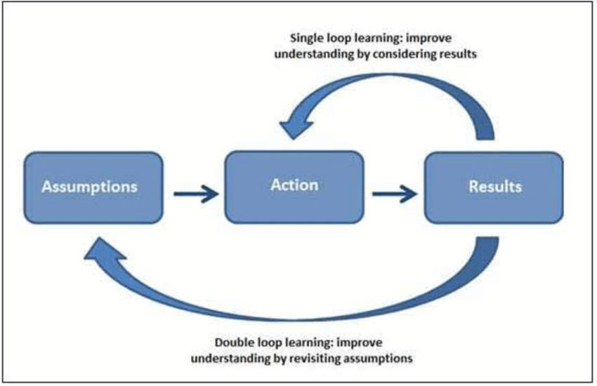 Single Loop Learning vs double Loop Learning