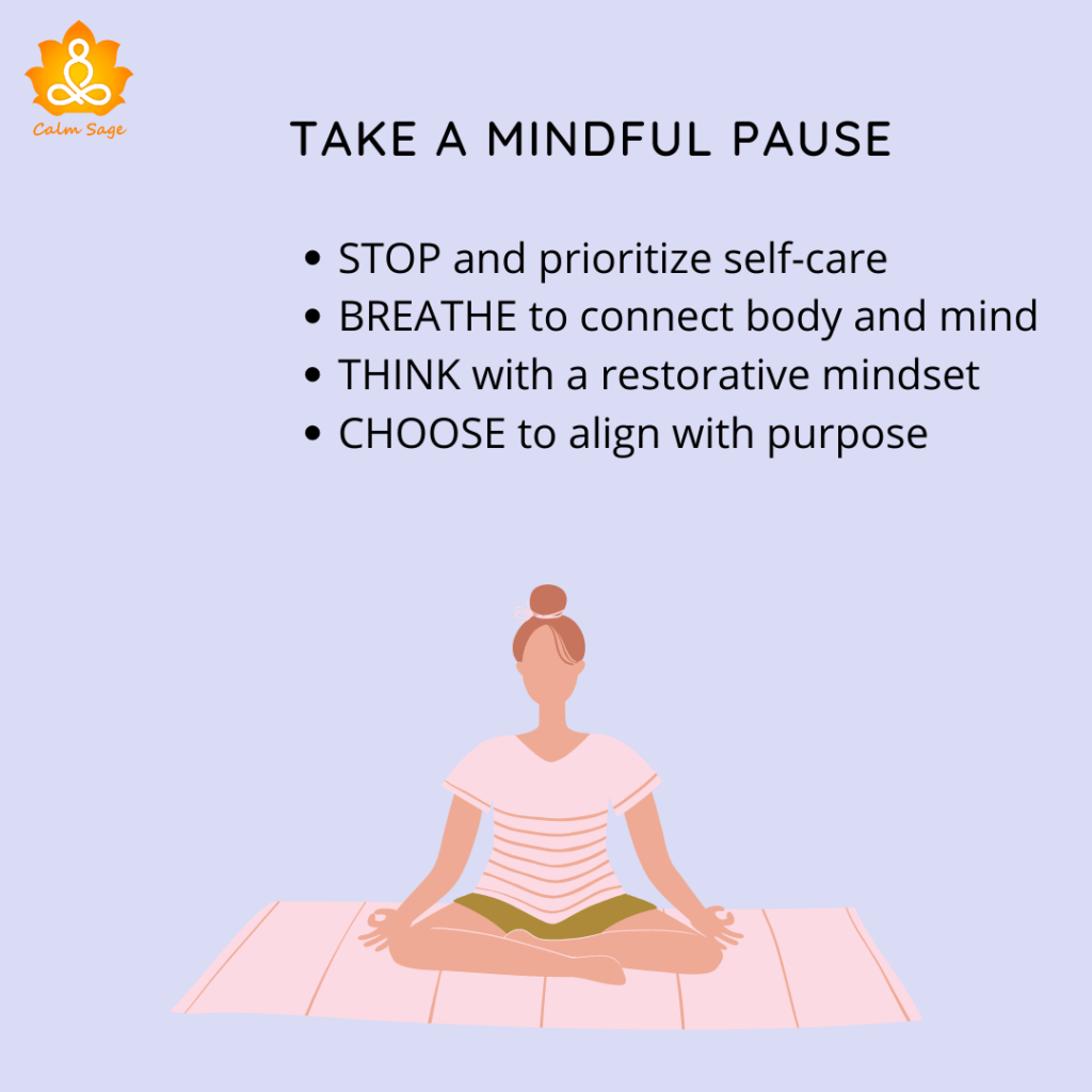 The Mindful pause