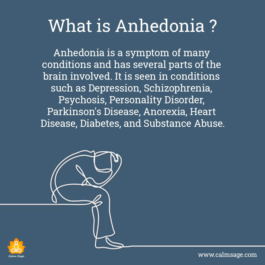 What is Anhedonia