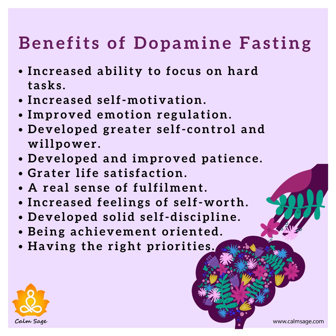 benefits of dopamine fasting