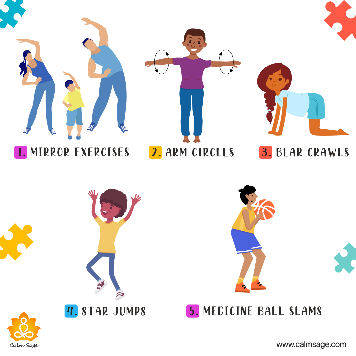 exercise for kids with autism