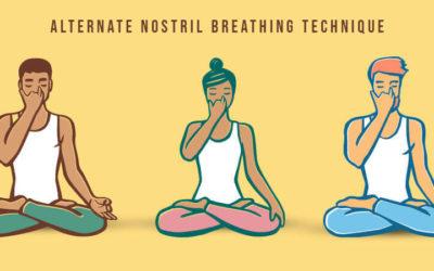 Alternate Nostril Breathing Technique