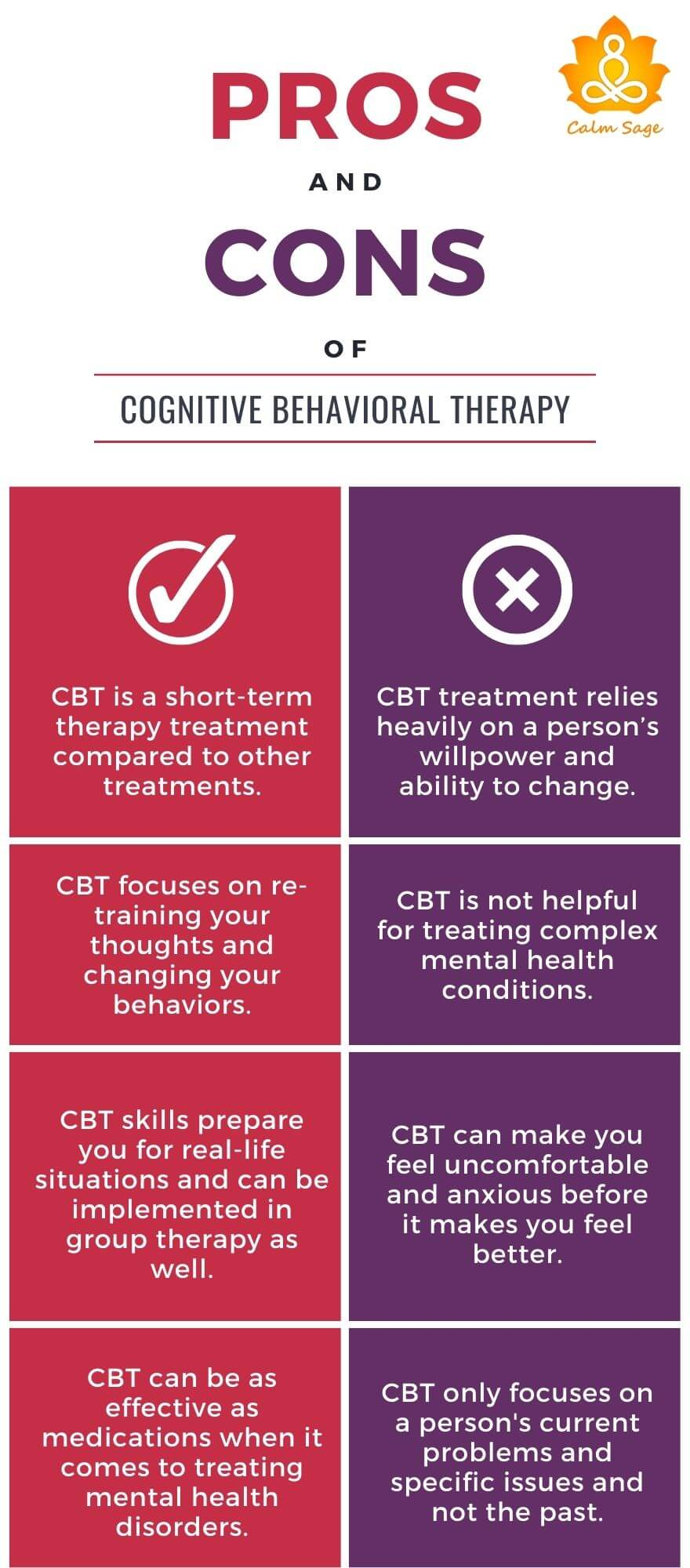 Pros and Cons Of CBT therapy