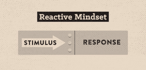 Reactive mindset