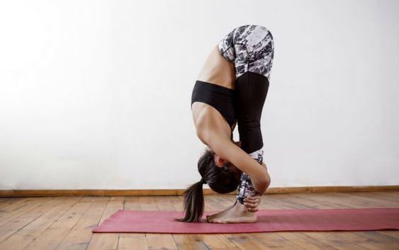 Uttanasana The Standing Forward Fold Pose