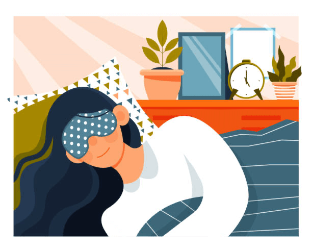 guided imagery helps Improving Sleep