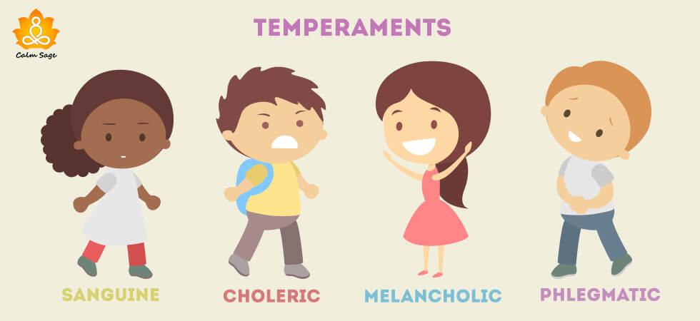 Most common types of temperament
