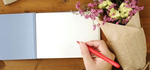 Send Flowers Or A Handwritten Card