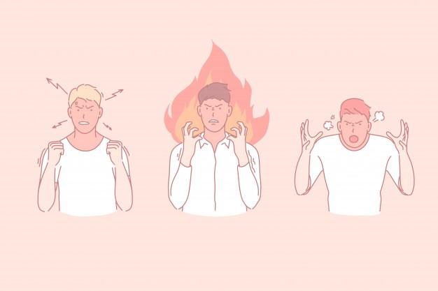 Symptoms of Volatile Anger