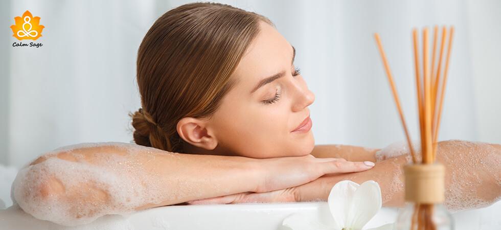 Bubble Bath For Stress Management