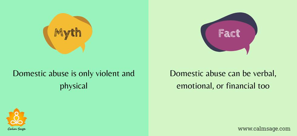 Domestic Violence myths fact 1