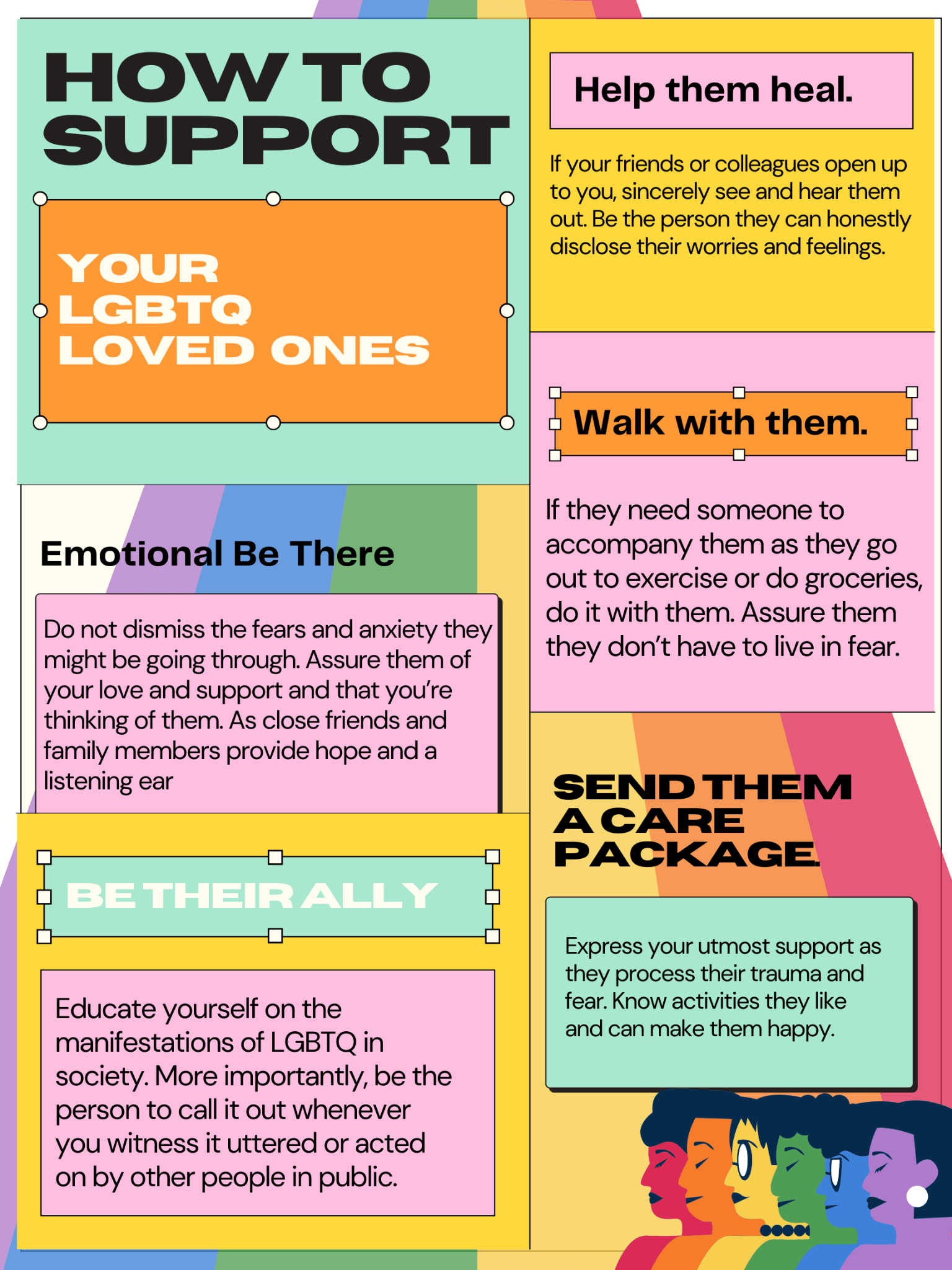 how to support lgbtq