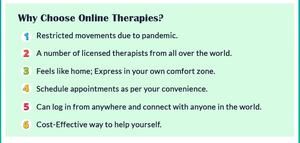 why choose online therapy