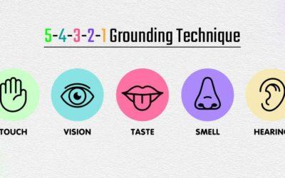5-4-3-2-1 Grounding Technique