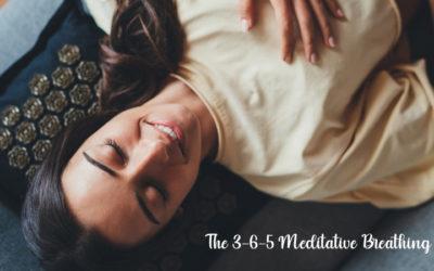 The 3-6-5 Meditative Breathing Method