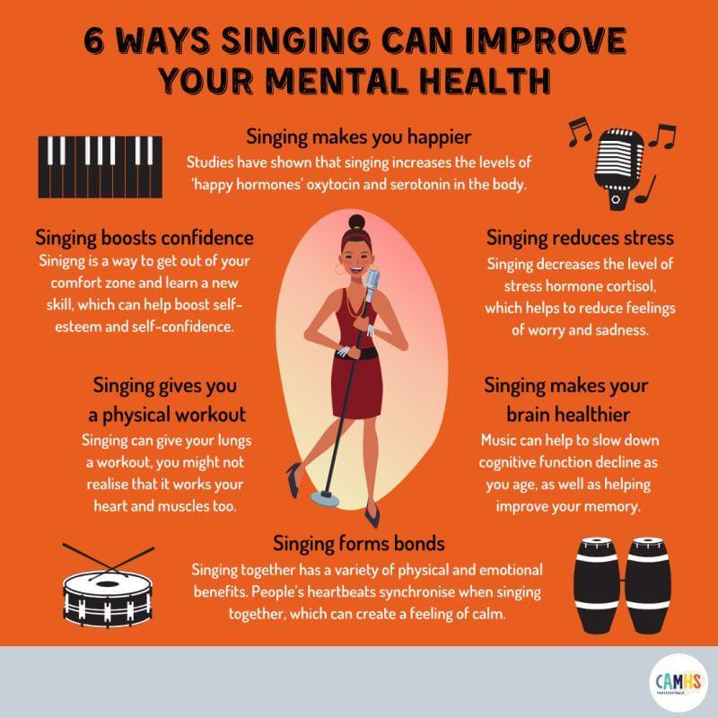 health benefits of singing
