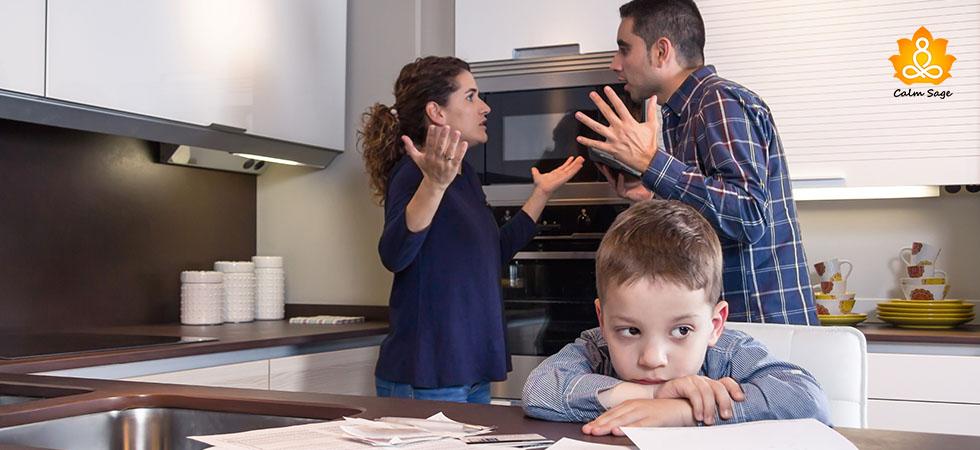 How does infidelity impact children's mind set